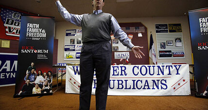 Santorum surge: Underdog candidates push for surprise Iowa caucus 'win'