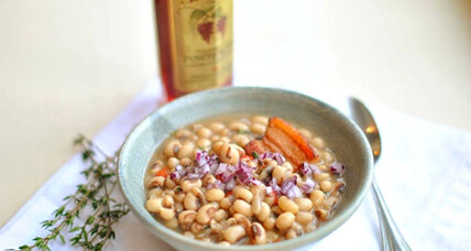New Year's black-eyed peas, updated