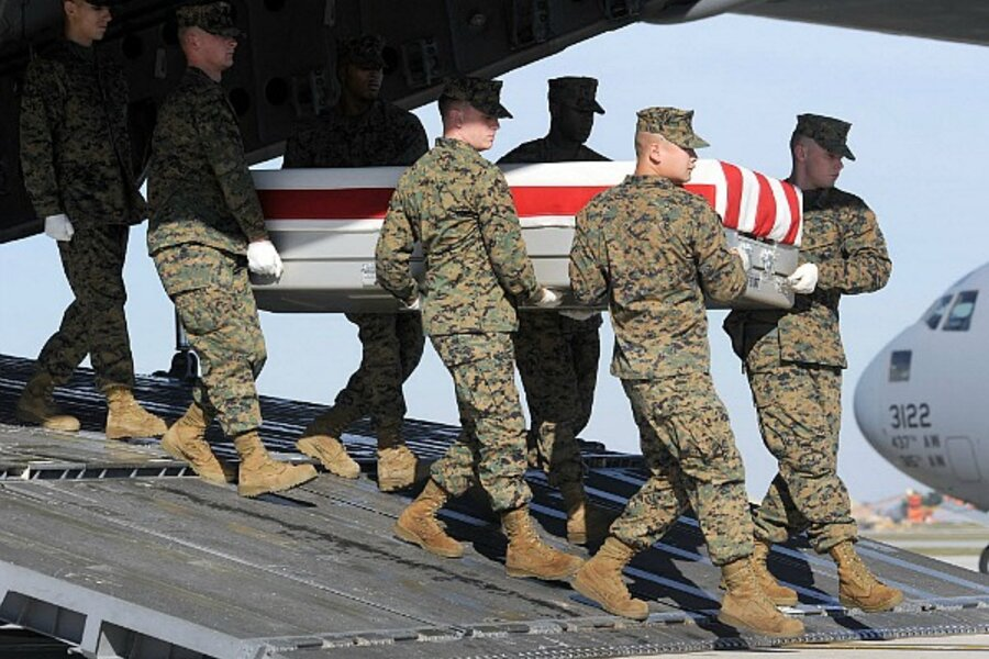 Remains Of Hundreds Of Fallen American Soldiers Sent To