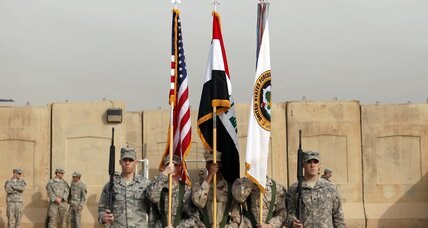 Iraq, after US ends its war role, must now define 'mission accomplished'