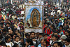 At Our Lady of Guadalupe pilgrimage, Pope's possible Mexico visit ranks second