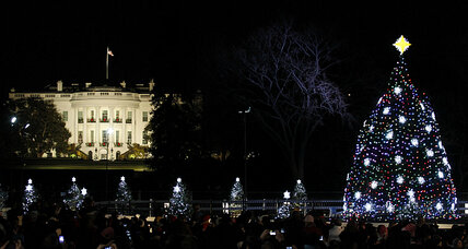 A Christmas tree farmer as president? How he raised spirits during wartime.