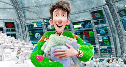 Arthur Christmas: movie review