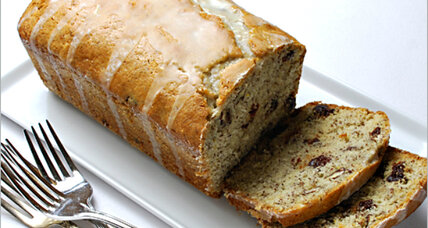 Cherry orange loaf cake