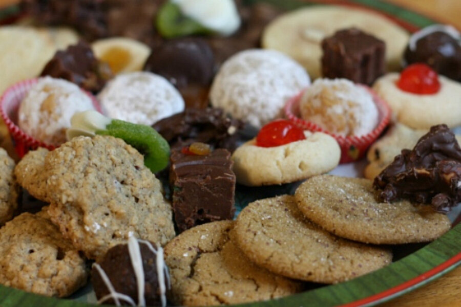 Christmas cookie platter ideas - CSMonitor.com