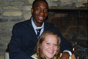 interracial christian couple speaking at churches