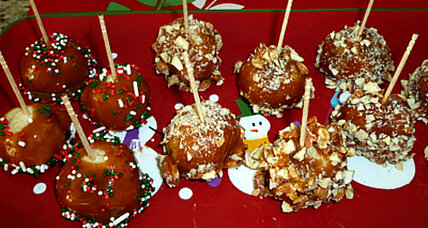 Holiday caramel treats