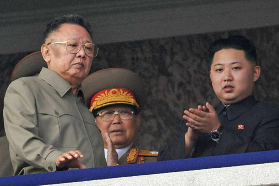 kim jong il dies will his son replace him as leader of north korea