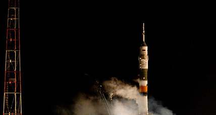 Christmas cosmonauts: American, Russian, and Dutchman bound for ISS