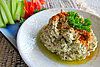 Walnut feta cheese dip
