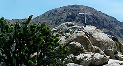 Supreme Court weighs arguments over Mojave cross