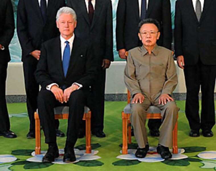 did president clinton meet n korea s kim jong il or his look alike