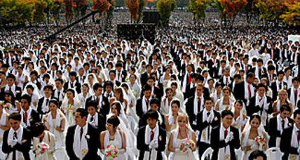 Is mass wedding the last for Unification Church's Sun Myung Moon?