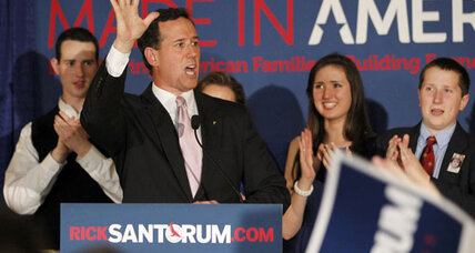 Despite Santorum wins in Alabama and Mississippi, Romney focused on Obama