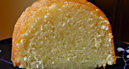 Lemon cake with lemony sugar wash