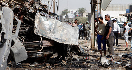 Car bombings hit Shiite pilgrimage, underscoring Iraq's sectarian divide