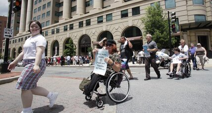 Disabled Americans: Jobless rate still high 22 years after landmark law