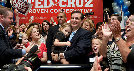 Ted Cruz, pulling an upset, is poised to boost tea party ranks in Senate