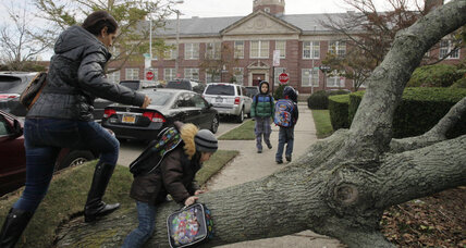 In New York: Back to school after Sandy