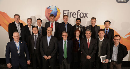 Firefox enters the smart-phone industry, challenging Google, Apple