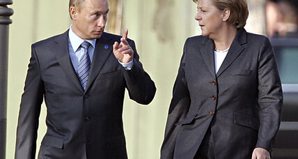 Putin and Merkel set for a prickly Russian-German summit?