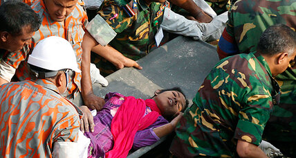 Hope rises: Woman found alive 17 days after deadly Bangladesh factory collapse