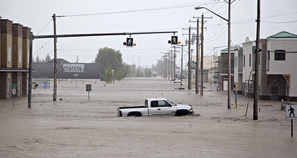Canmore flood threatens towns in west Canada