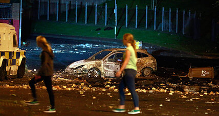 New protests, same 'troubles' as riots roil Belfast