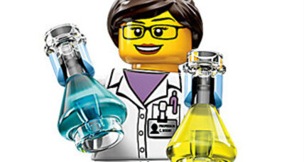 Lego's new female scientist is a first for toy company
