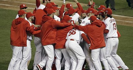 Cardinals KO Kershaw, World Series-bound