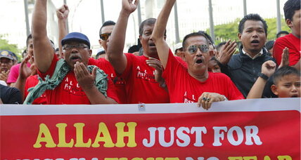 No more 'Allah' for Christians, Malaysian court says