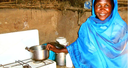 Darfur cookstove project brings economic, health benefits
