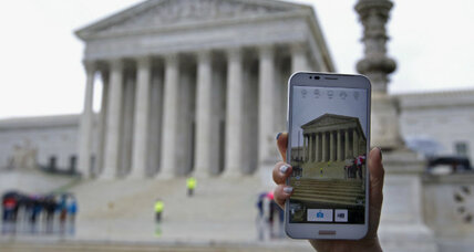 US Supreme Court to police: To search a cell phone, 'get a warrant' (+video)