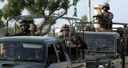 Pakistan's PM backs army offensive against militants in Waziristan