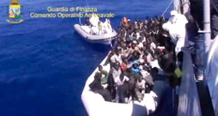 EU leaders sending ships, aid for action on Mediterranean migrants