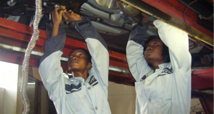 Wrenches in hand, Nigerian lady mechanics retool gender roles