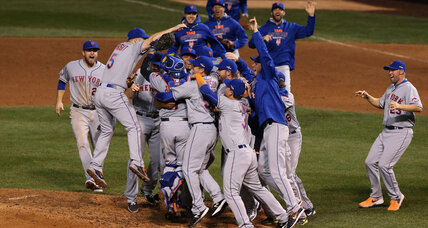 Murphy, Mets sweep past Cubs to go to World Series