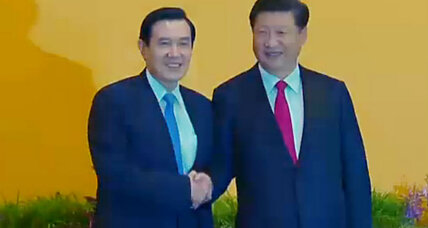 Progress? Historic handshake between leaders of China and Taiwan