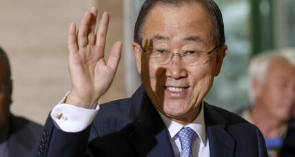 Is Ban Ki-moon going to North Korea?