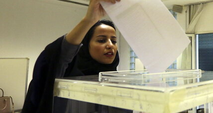 What Saudi women voting says of the Mideast