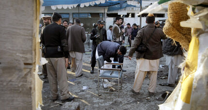 Suicide bombing kills 26, wounds 45 in northwestern Pakistan