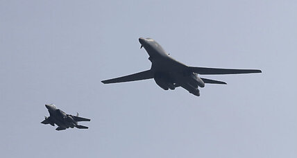 US flies B-1 bombers over South Korea in show of force against North