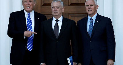James 'Mad Dog' Mattis seen as leading candidate for Pentagon chief