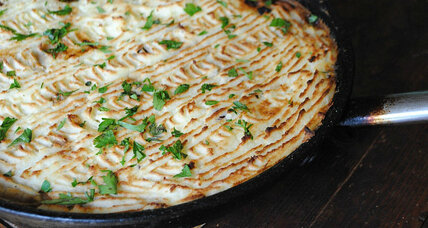 Spicy Greek turkey pie